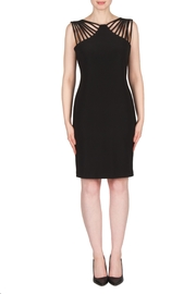 Joseph Ribkoff Stylish Cutout Dress - Product Mini Image