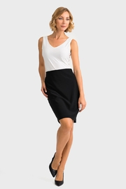 Joseph Ribkoff Susie Black Skirt - Product Mini Image