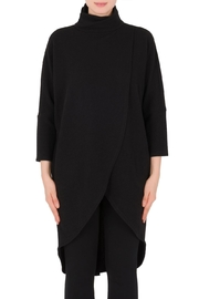 Joseph Ribkoff Textured Overlay Tunic - Product Mini Image