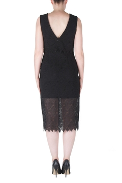 Joseph Ribkoff Tiered Crochet Dress - Alternate List Image