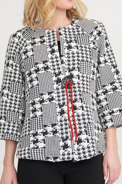 Joseph Ribkoff Trendy Textured Jacket - Product List Image