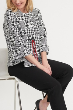 Joseph Ribkoff Trendy Textured Jacket - Alternate List Image