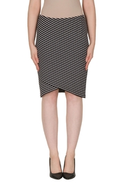 Joseph Ribkoff Striped Tulip Skirt - Product Mini Image