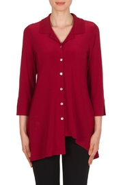 Joseph Ribkoff Tunic Claire Red Top - Product Mini Image
