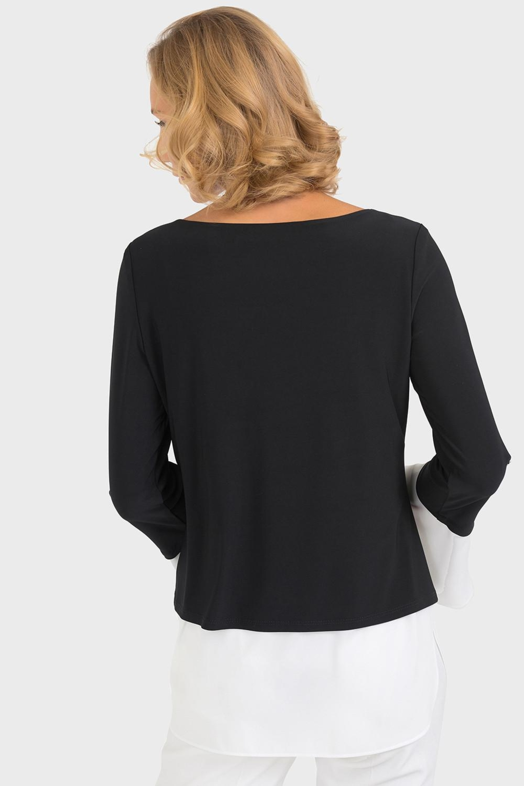 Joseph Ribkoff Two Layer Top - Front Full Image