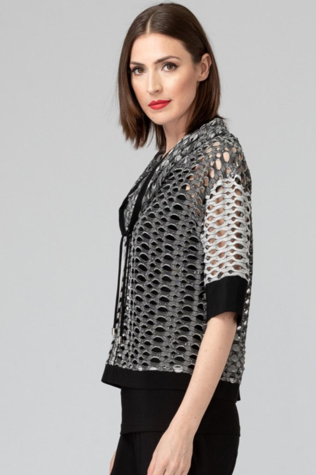 Joseph Ribkoff Two Piece Top - Front Full Image