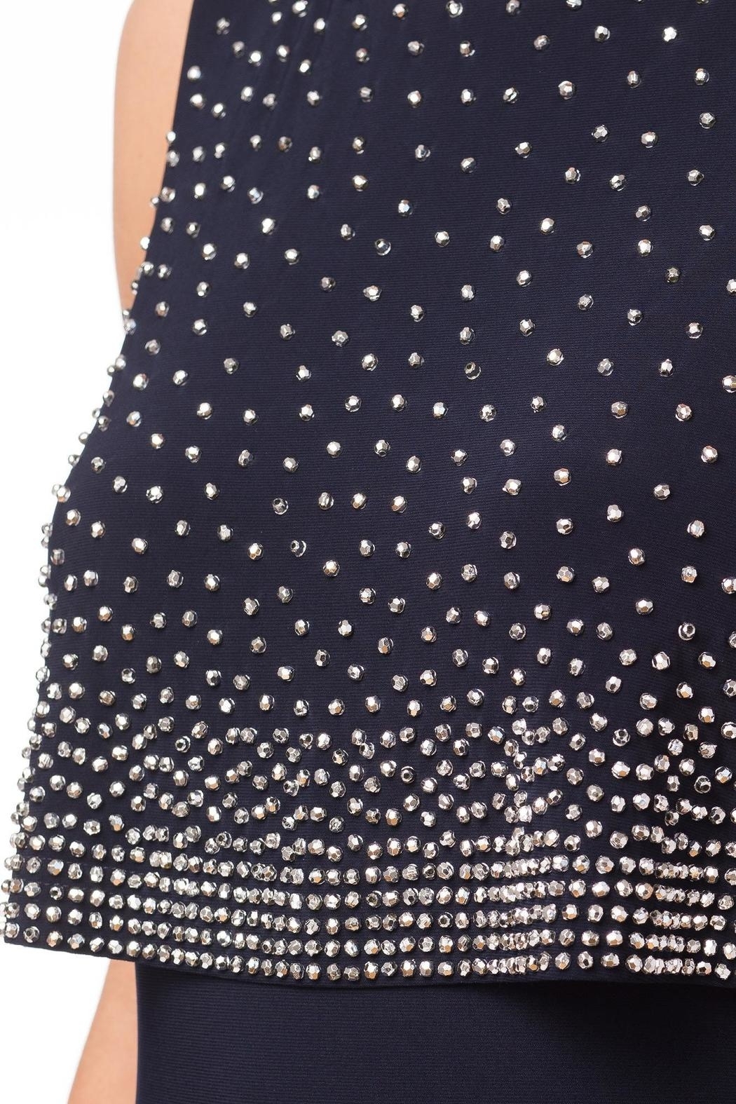Joseph Ribkoff Two Teir Dress - Side Cropped Image