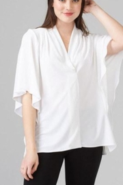 Joseph Ribkoff V Neck Flow Top - Product Mini Image