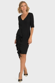 Joseph Ribkoff Vee Kneckline Dress - Product Mini Image