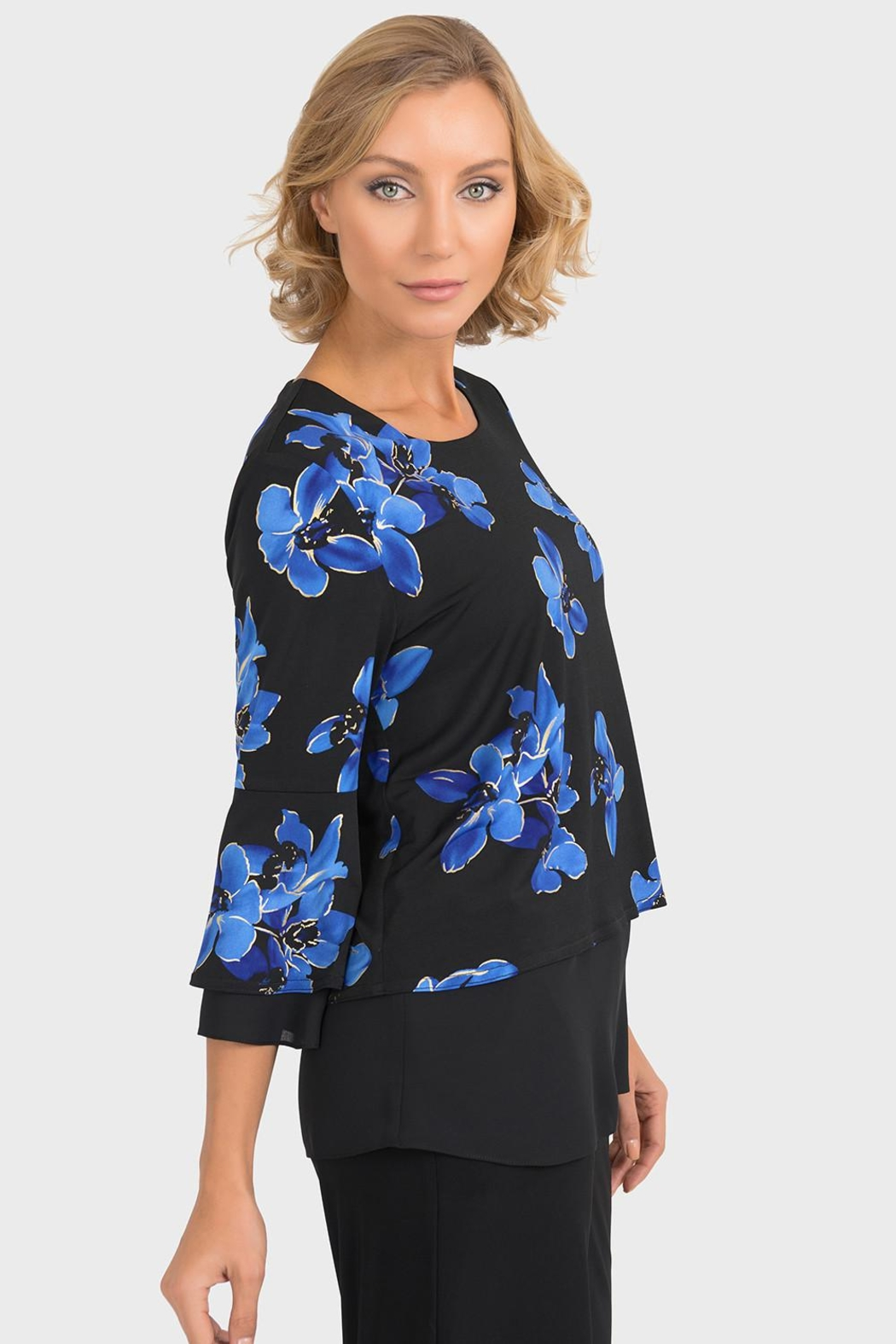 Joseph Ribkoff Veronica Floral Top - Front Full Image