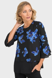 Joseph Ribkoff Veronica Floral Top - Product Mini Image