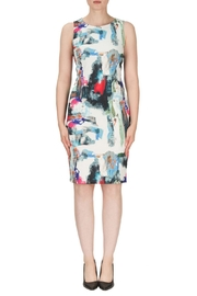 Joseph Ribkoff Sleeveless Patterned Dress - Product Mini Image