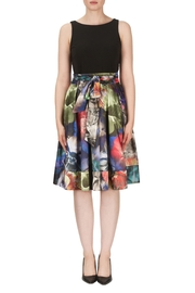 Joseph Ribkoff Watercolor Skirt Dress - Product Mini Image