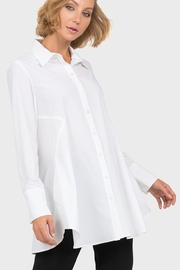 Joseph Ribkoff White Long Shirt - Product Mini Image