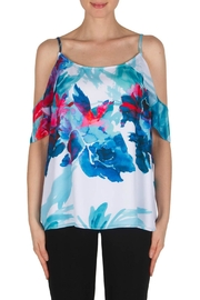Joseph Ribkoff White Multi Top - Product Mini Image
