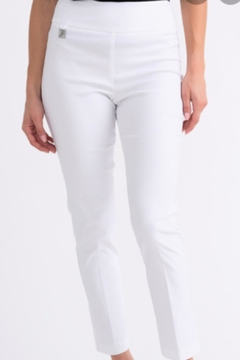 Shoptiques Product: White Pull On Pants
