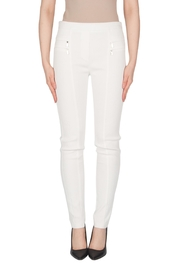 Joseph Ribkoff Winter White Pants - Product Mini Image