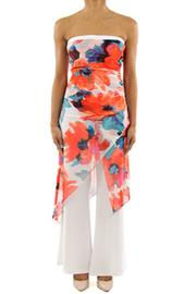 Joseph Ribkoff Wide Leg Jumpsuit - Product Mini Image