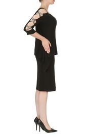 Joseph Ribkoff X Rhinestone Dress - Front full body