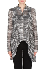 Joseph Ribkoff Zip Front Tunic Top - Product Mini Image