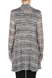 Joseph Ribkoff Zip Front Tunic Top - Side cropped