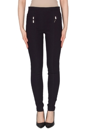 Joseph Ribkoff Zipper Pleated Pant - Front cropped