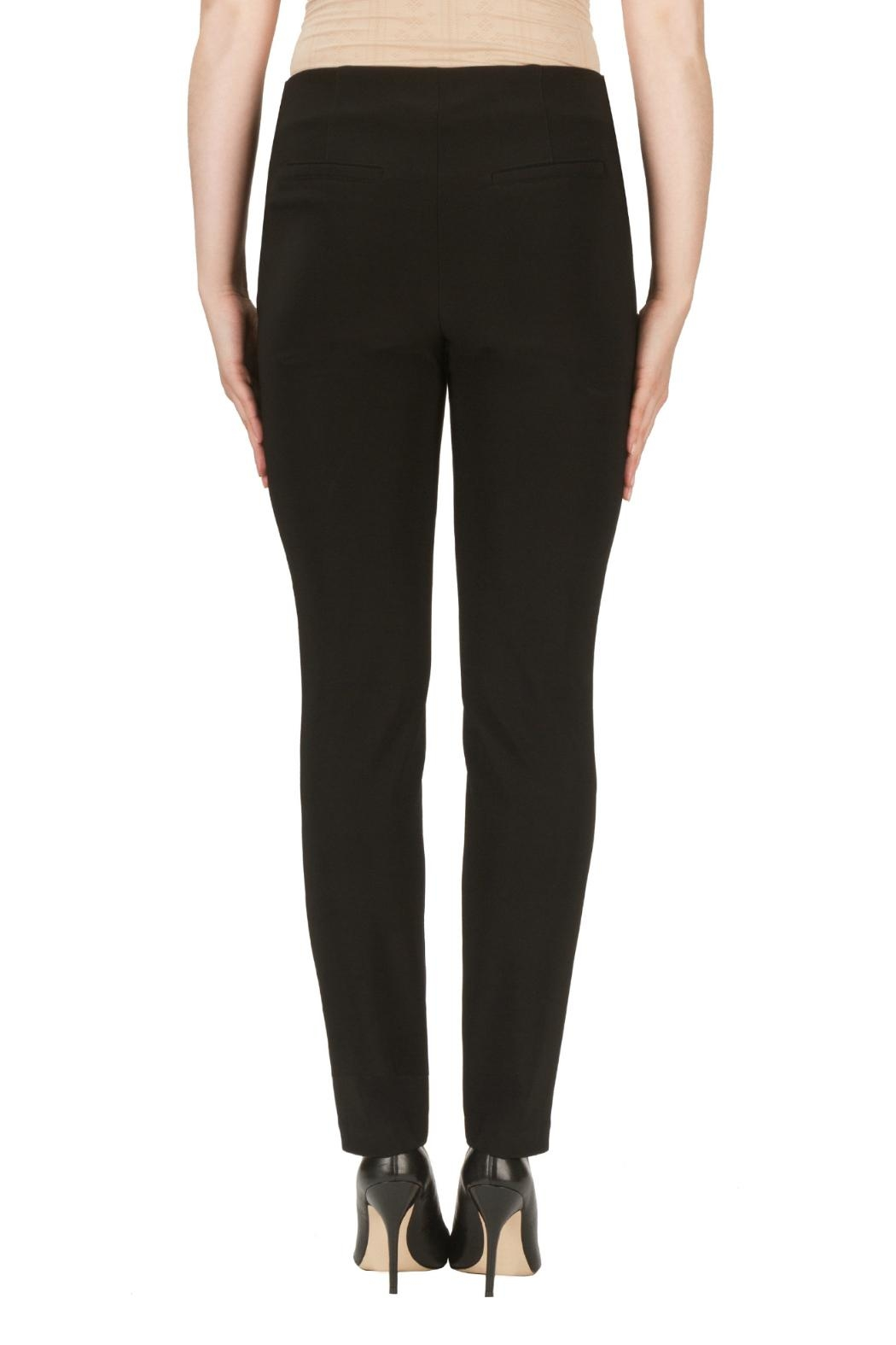Joseph Ribkoff Zipper Pleated Pant - Side Cropped Image