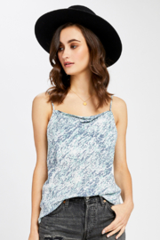 Gentle Fawn Josephine Print Tank - Front cropped