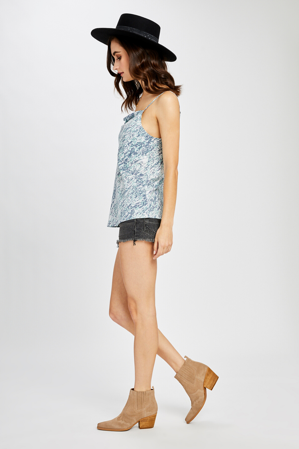 Gentle Fawn Josephine Print Tank - Front Full Image
