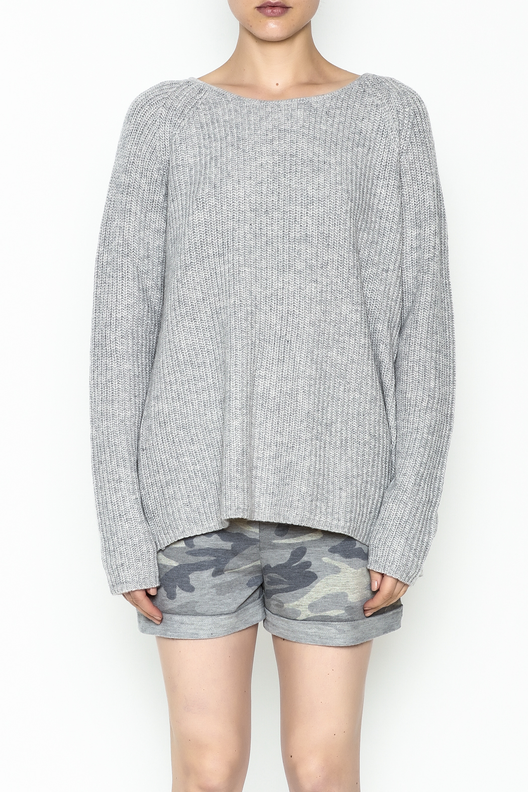 Josie Back Buckles Sweater - Front Full Image