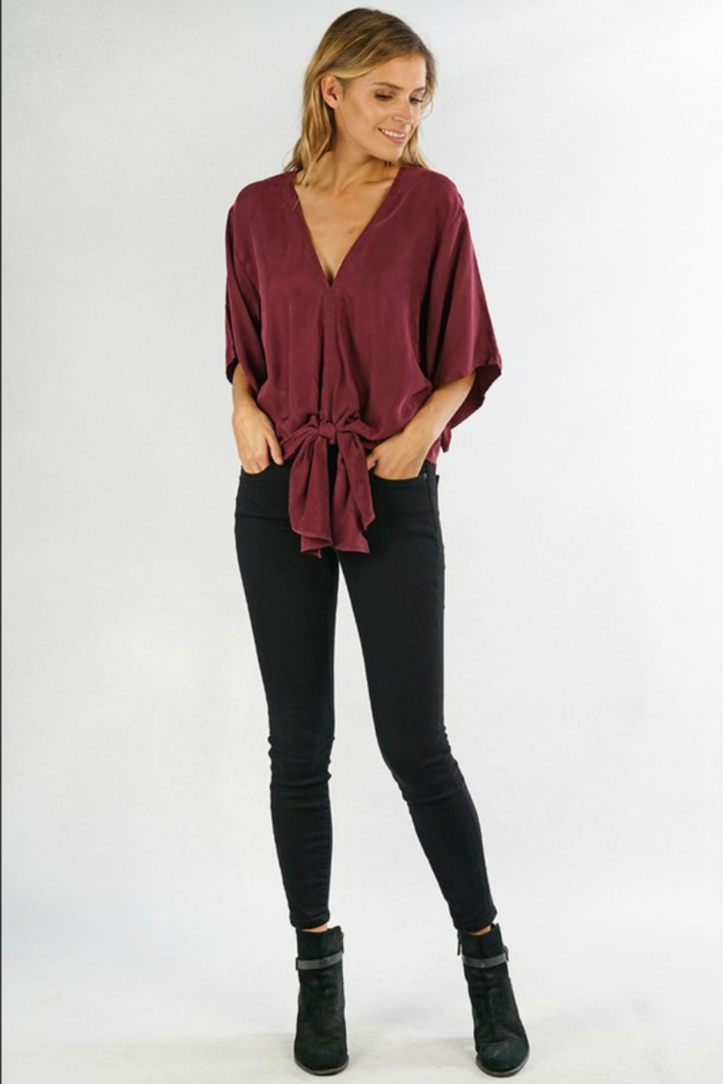Lovestitch  Josie Blouse - Front Cropped Image