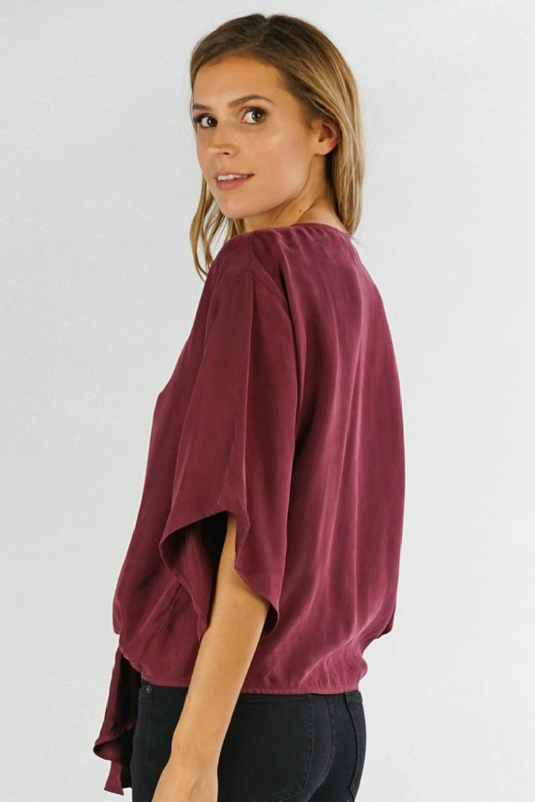 Lovestitch  Josie Blouse - Side Cropped Image