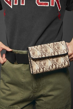 Anine Bing Joss Python Bag - Product List Image