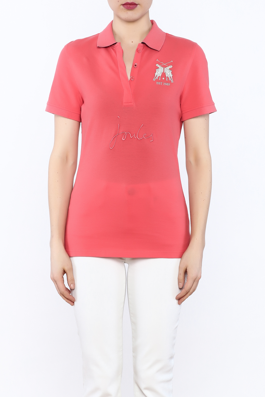 Joules Amity Polo Shirt - Side Cropped Image