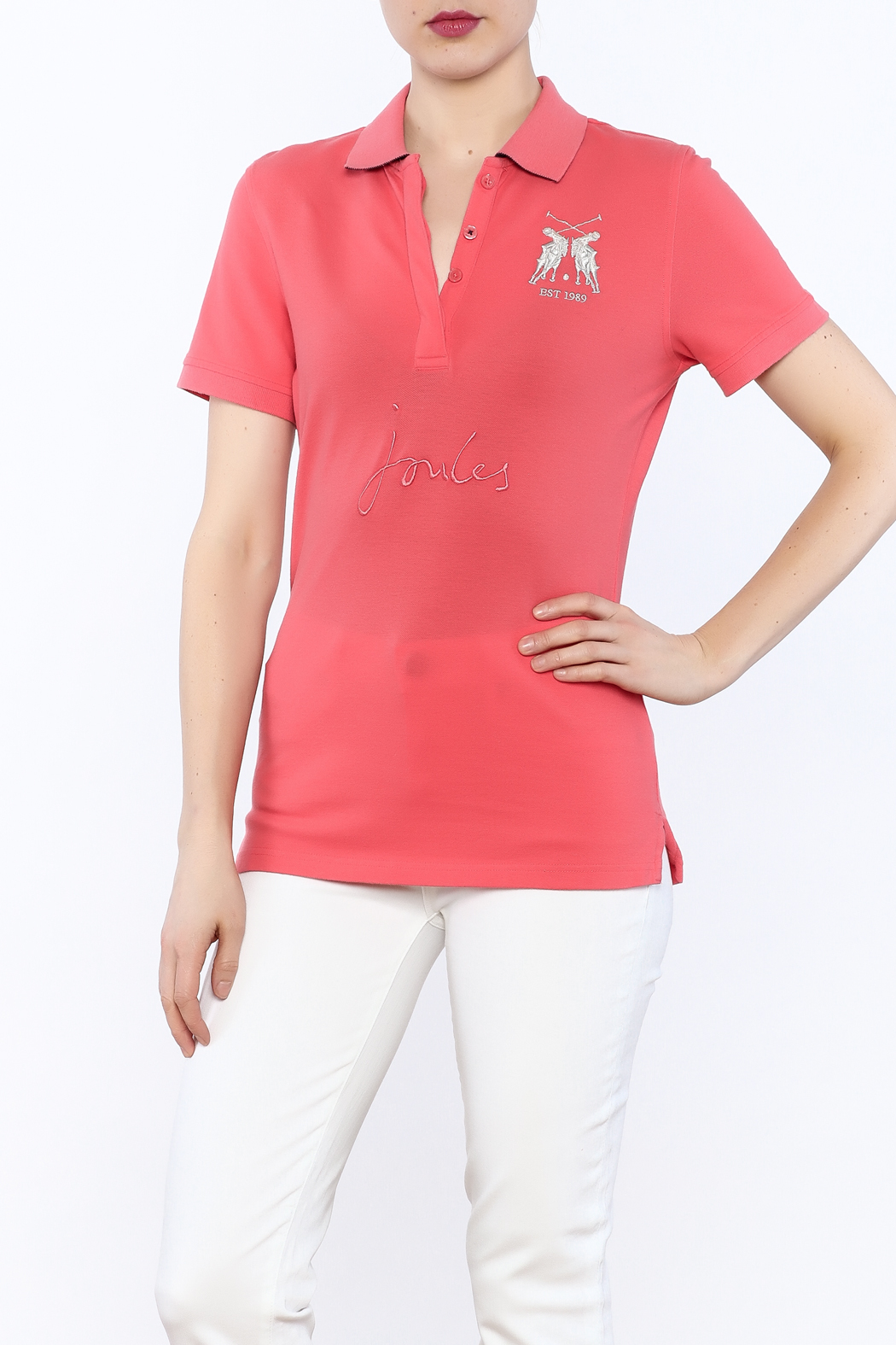 Joules Amity Polo Shirt - Front Cropped Image
