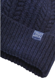 Joules Bobble Knitted Hat - Side cropped