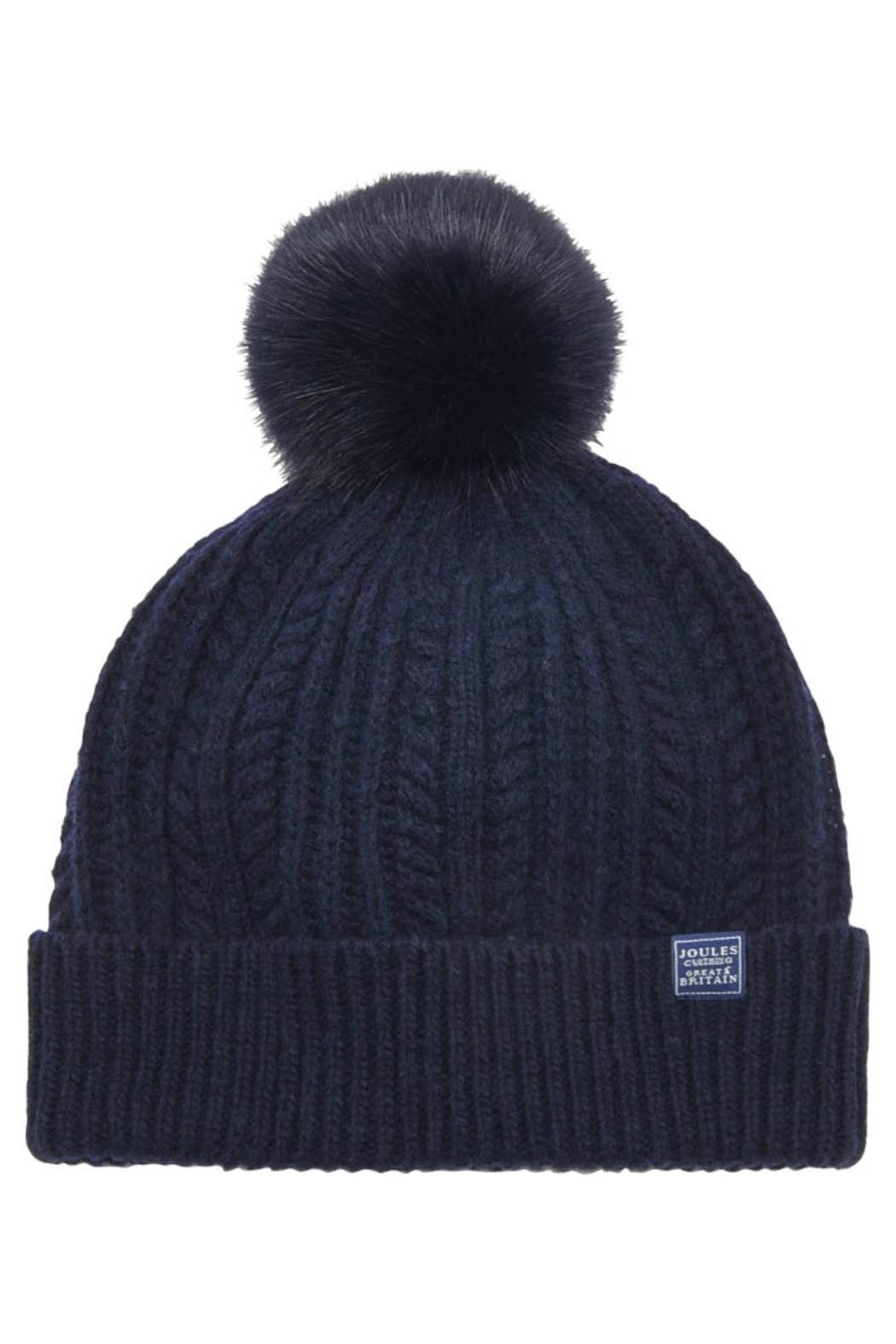 Joules Bobble Knitted Hat - Main Image