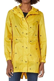 Joules Bumble Bee Raincoat - Front cropped
