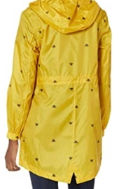 Joules Bumble Bee Raincoat - Front full body