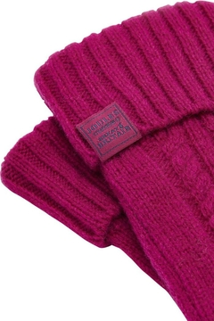 Joules Cableknit Long Gloves - Alternate List Image