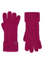 Joules Cableknit Long Gloves - Product Mini Image