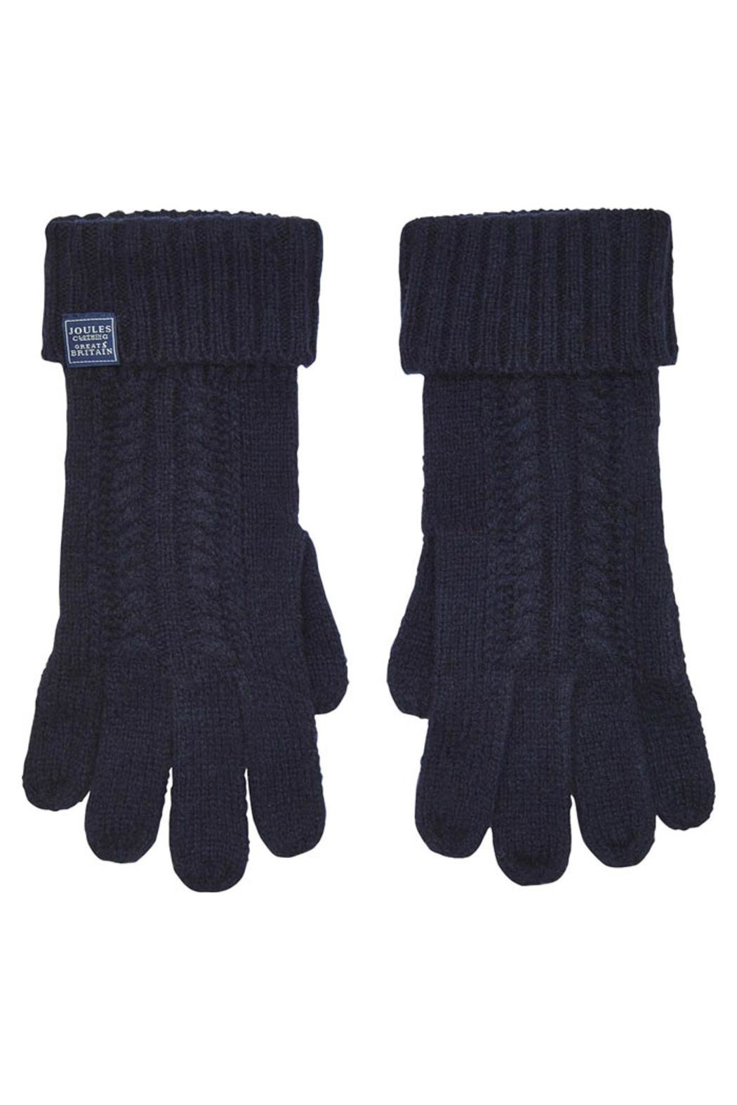 Joules Cableknit Long Gloves - Main Image