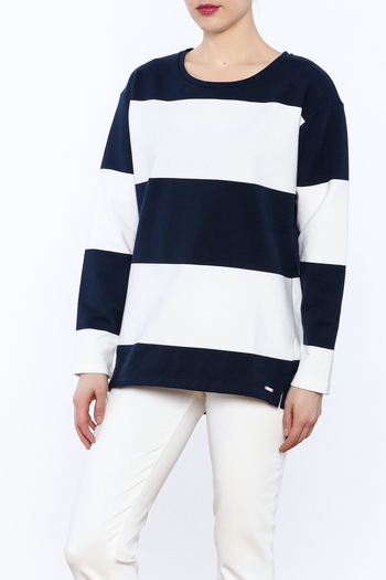 Joules Clemence Stripe Top - Main Image