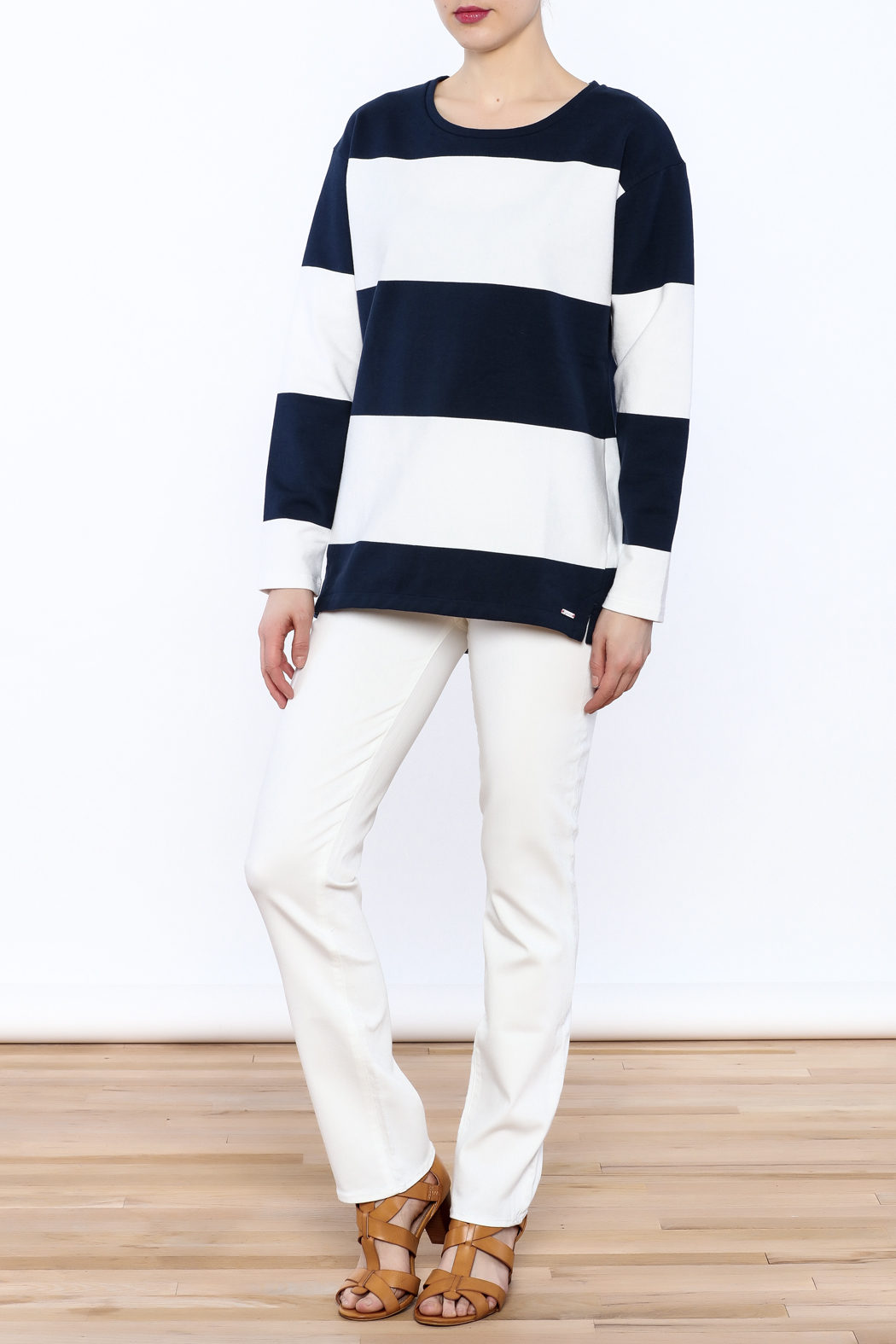 Clemence Stripe Top