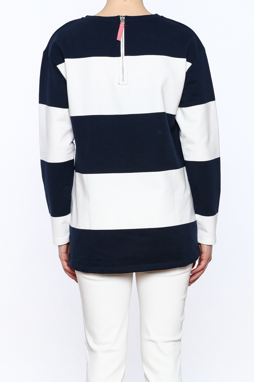 Joules Clemence Stripe Top - Back Cropped Image