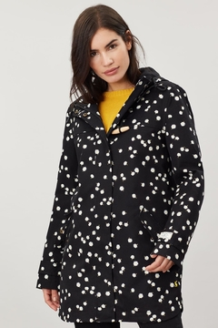 Joules Daisy Print Raincoat - Alternate List Image