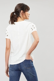 Joules Embroidered Sleeve Tee - Side cropped