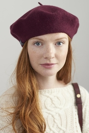 Joules Felted Wool Beret - Product Mini Image