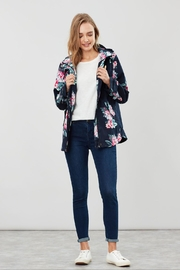 Joules Floral Print Jacket - Front cropped
