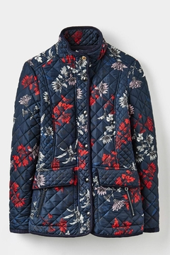 Joules Floral Quilted Jacket - Product List Image